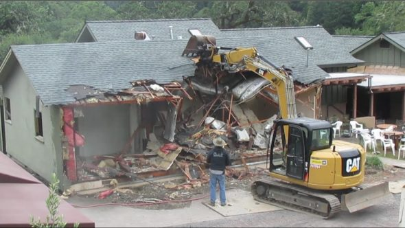 Building demolition completed by Rock Emergency