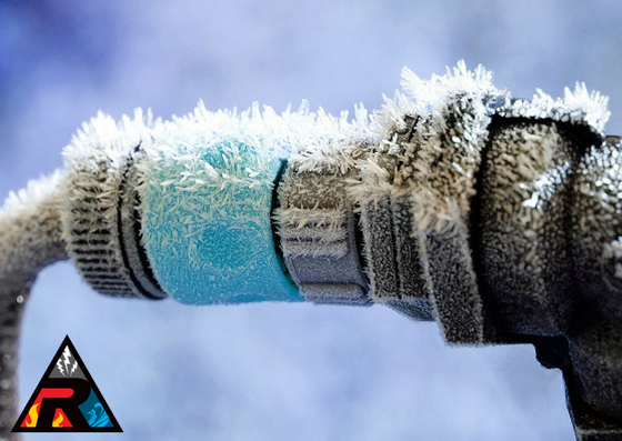 Frozen pipes and winter water damage