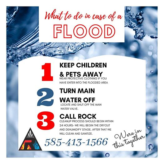 What to do in Case of flood