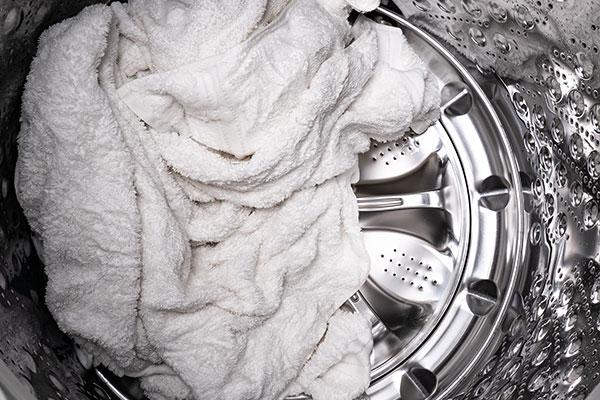 mildew on laundry
